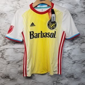 Adidas Columbus Crew Youth Soccer Jersey Boys M